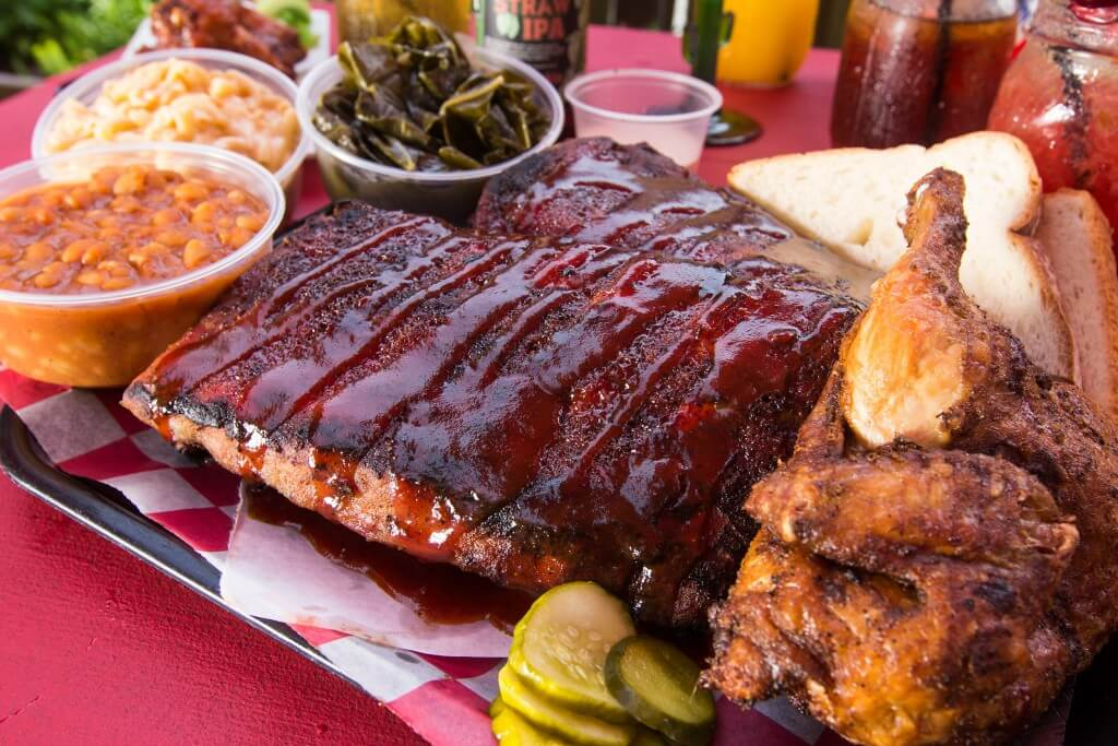 Chad's Rib and Chicken Platter BBQ is a Way of Life