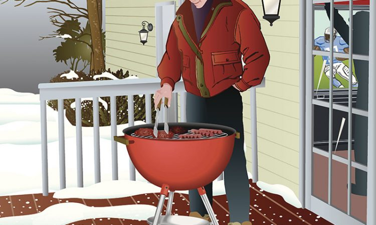 3 Helpful Winter Grilling Tips From Chad's