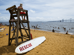 Sand Point throw a party in Edgewater