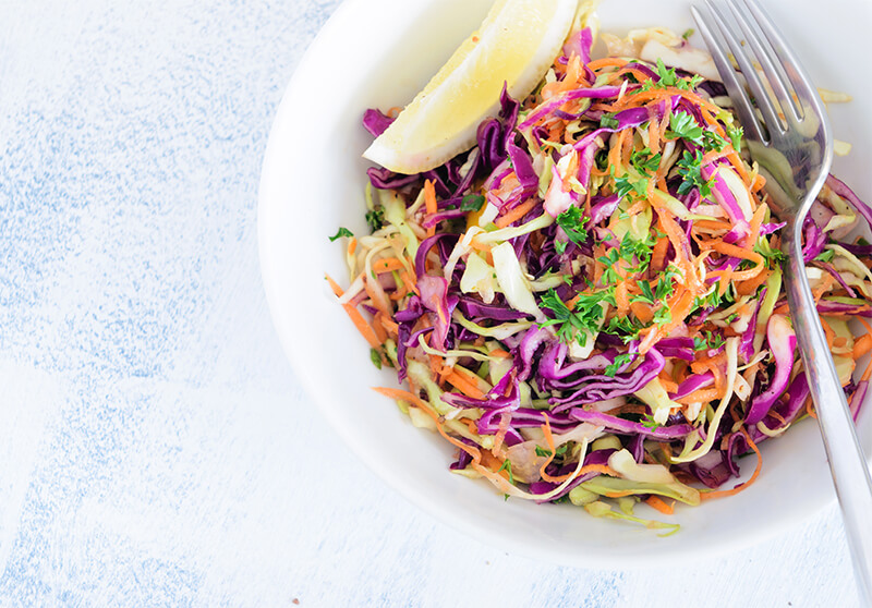 history of coleslaw