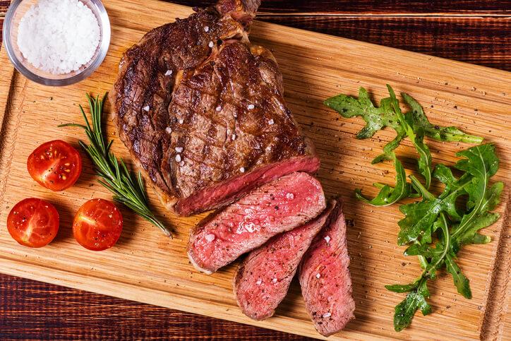 Ribeye steak top meat cuts